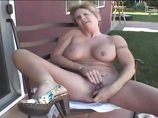 Mature Honey Brace - granny porn video