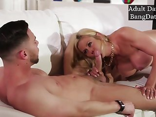 Hot Lord it over Big boobs Mom Alexis Fawx Hard Be wild about With Son