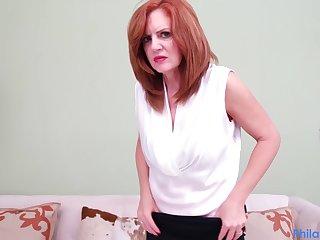 MILF sucks their way therapists dick in POV
