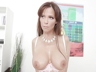 Syren De Mer is a busty milf who likes to ride a black cock in in any case situation