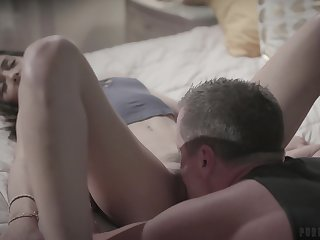 Eric Masterson bangs sexy wife's sister in mouth added to pussy