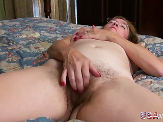 USAwives Alluring Mature Striptease Compilation