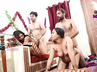 INDIAN FRIEND Become man SWAPPING - 2 Dicks More One Chick