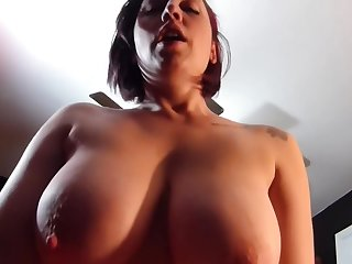 Gwen Sucking Dick And Titty Fucking Then She Cant Restrain Herself Needing To Get Fucked