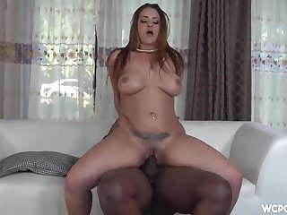 Latina voluptuous trull heart-stopping porn scene