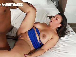Tiny Asian Milf Gets Hard Fucked By Big Dick Hunk