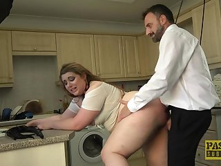 Curvy irritant slut plays obedient be worthwhile for her very horny master