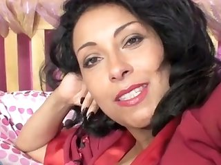 Video of amateur wife Danica Collins lustrous her pussy for the camera
