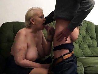 Penny Sneddon sucking cock 26-11-18