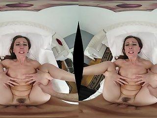 Sensuous hairy MILF VR incredible porn scene