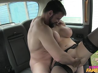 Billy Boss fucked be imparted to murder sexiest taxi driver Rebecca More