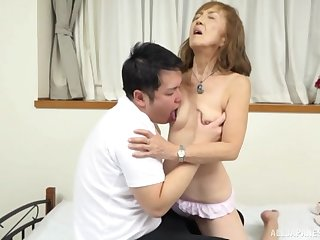 Mature Japanese tries nephew for a few rounds of sexual congress