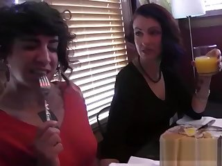 Proud mother in law loves hard-core lesbian fuck