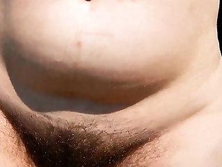 Hairy full-grown outdoor