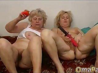 OmaPasS Na�ve Hairy Mature Amateur Porn Video