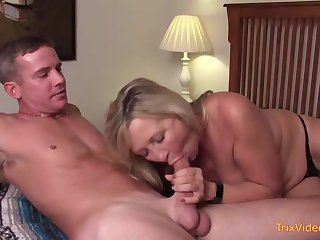 Mischievous mother and her mischievous step- sonny are pulverizing more the bedroom, once more a while